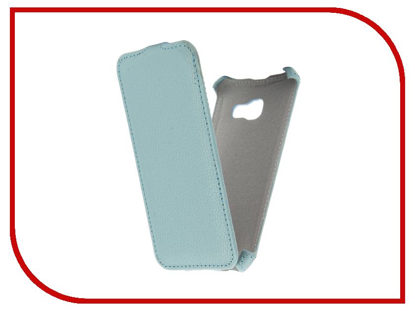Аксессуар Чехол Samsung Galaxy A3 2017 Zibelino Classico Blue ZCL-SAM-A3-2017-BLU аксессуар чехол lenovo k10 vibe c2 k10a40 zibelino classico black zcl len k10a40 blk