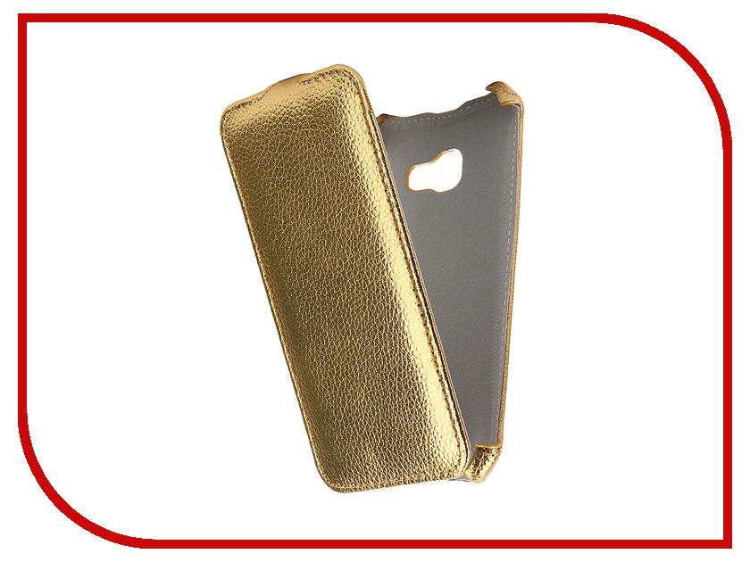 Аксессуар Чехол Samsung Galaxy A3 2017 Zibelino Classico Gold ZCL-SAM-A3-2017-GLD аксессуар чехол lenovo k10 vibe c2 k10a40 zibelino classico black zcl len k10a40 blk