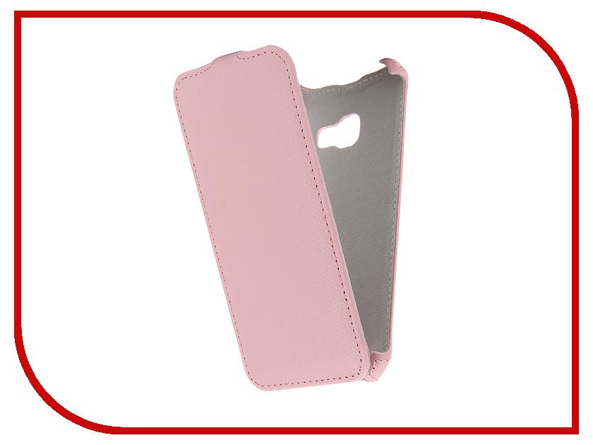 Аксессуар Чехол Samsung Galaxy A3 2017 Zibelino Classico Pink ZCL-SAM-A3-2017-PNK аксессуар чехол samsung galaxy j7 2016 zibelino classico black zcl sam j7 2016 blk