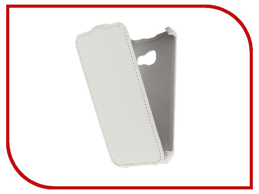 Аксессуар Чехол Samsung Galaxy A3 2017 Zibelino Classico White ZCL-SAM-A3-2017-WHT аксессуар чехол samsung galaxy j7 2016 zibelino classico black zcl sam j7 2016 blk