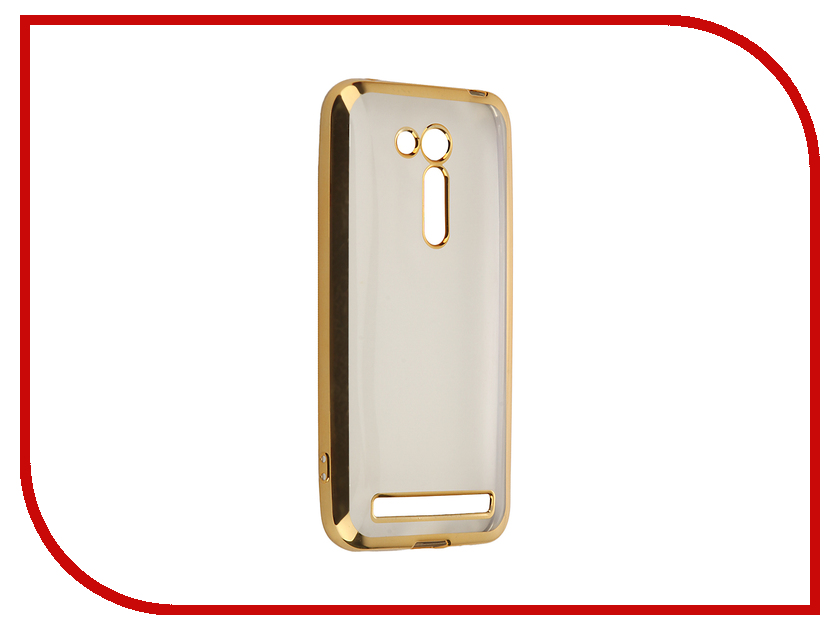 Аксессуар Чехол ASUS ZenFone Go ZB452KG/ZB450KL SkinBox Silicone Chrome Border 4People Gold T-S-AZB452KG-008<br>