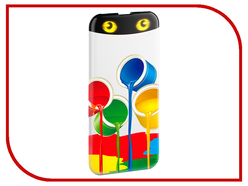 Аккумулятор HIPER Power Bank EP6600 6600 mAh Rainbow