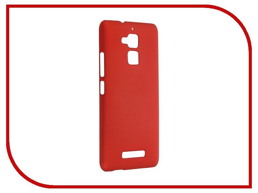 Аксессуар Чехол ASUS ZenFone 3 Max ZC520TL SkinBox 4People Red T-S-AZC520TL-002 аксессуар чехол накладка asus zenfone c zc451cg skinbox 4people black t s azc 002 защитная пленка