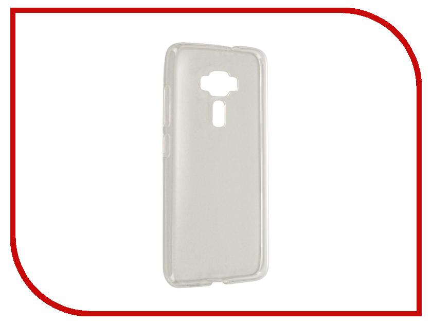 Аксессуар Чехол ASUS ZenFone 3 ZE552KL Gecko Transparent-Glossy White S-G-ASZ3-WH аксессуар чехол накладка asus zenfone c zc451cg gecko силиконовый transparent s g aszc451cg wh