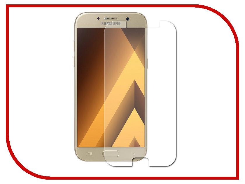 Аксессуар Защитное стекло для Samsung Galaxy A5 2017 A520F Gecko 0.26mm ZS26-GSGA5-2017 аксессуар чехол для samsung galaxy j7 j730 2017 gecko transparent glossy white s g sgj7 2017 wh