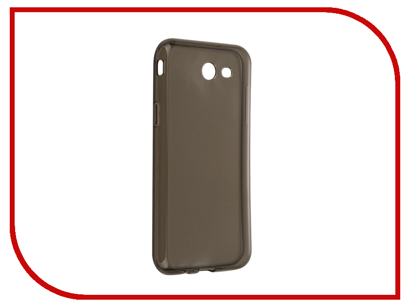 Аксессуар Чехол-накладка Samsung Galaxy J3 J327P 2017 Gecko силиконовый Black S-G-SGJ3-2017-BL аксессуар чехол накладка gecko for samsung galaxy e5 e500h силиконовый transparent