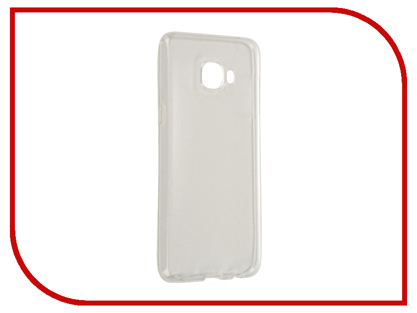 Аксессуар Чехол-накладка Samsung Galaxy С5 С5000 2016 Gecko силиконовый White S-G-SGC5-WH-2016