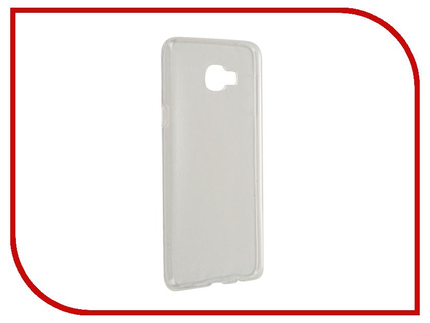 Аксессуар Чехол-накладка Samsung Galaxy С7 С7000 2016 Gecko силиконовый White S-G-SGC7-WH-2016