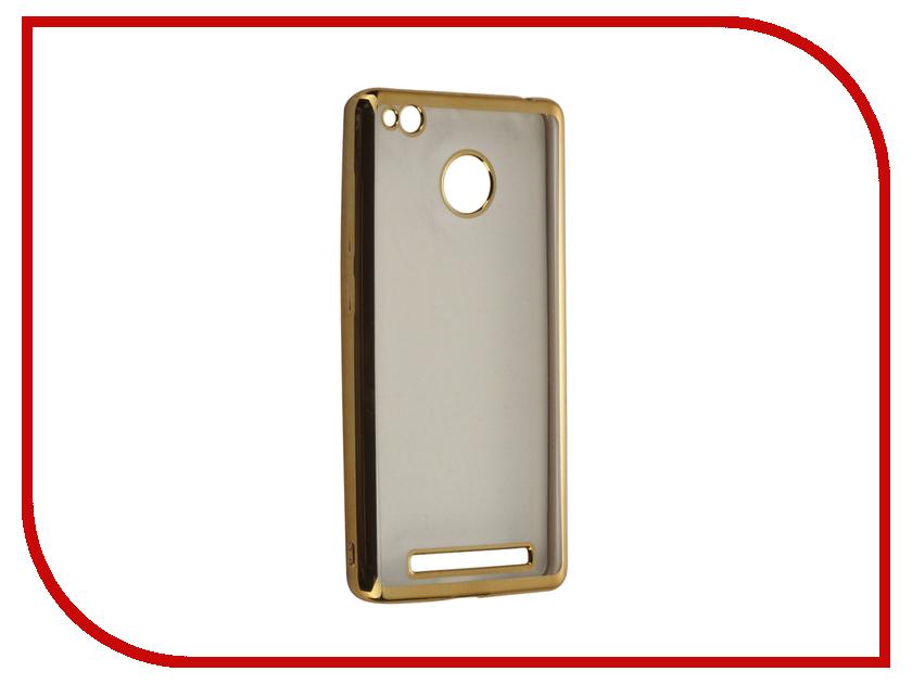 Аксессуар Чехол-накладка Xiaomi 3X Gecko силиконовый Gold SR-G-XIAM3X-GOLD