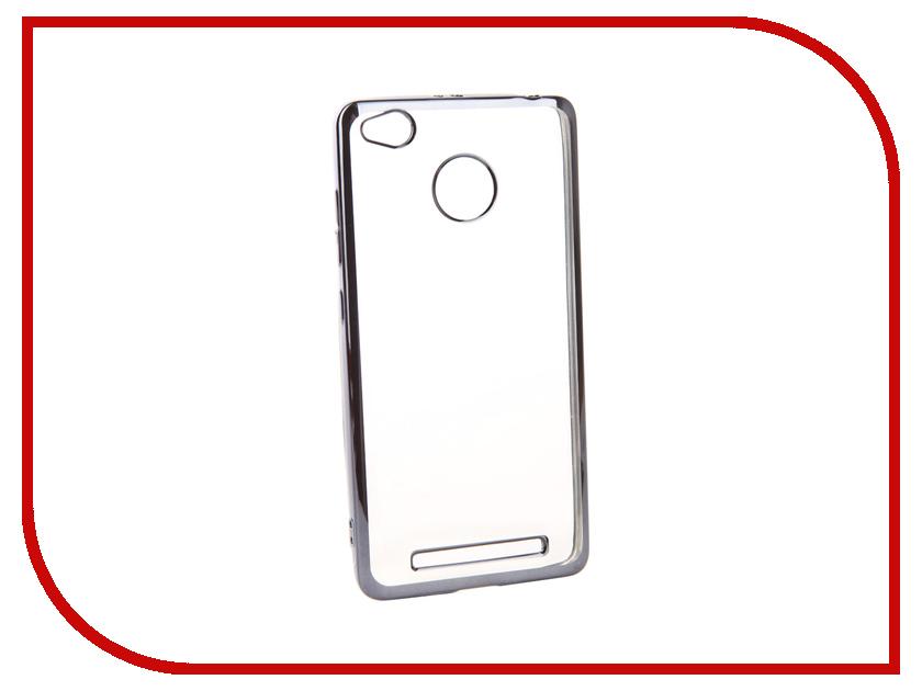 Аксессуар Чехол-накладка Xiaomi 3X Gecko силиконовый Black SR-G-XIAM3X-BL<br>