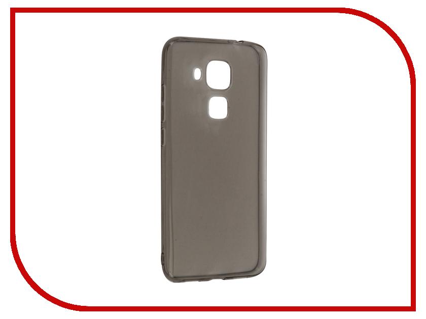 Аксессуар Чехол-накладка Huawei Nova Plus Gecko силиконовый Grey S-G-HUAHNOVAPL-BL