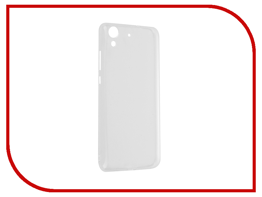 Аксессуар Чехол Huawei Y6 II SkinBox Slim Silicone Transparent T-S-HY6II-006 аксессуар чехол накладка xiaomi redmi 5 skinbox slim silicone transparent t s xr5 006