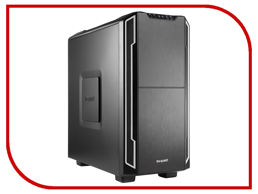 Корпус Be Quiet Silent Base 600 BG007 Silver be quiet pure power 9 500w
