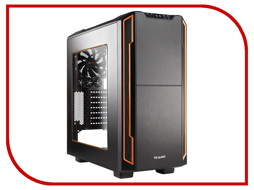 Корпус Be Quiet Silent Base 600 BGW05 Window Orange алкатель 8050
