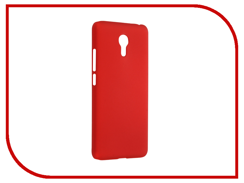 Аксессуар Чехол Meizu M3 Note SkinBox Shield Case 4People Red T-S-MM3N-002<br>
