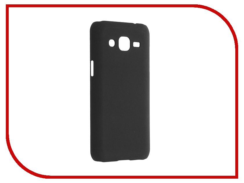 Аксессуар Чехол Samsung Galaxy J2 2016 SkinBox 4People Black T-S-SGJ22016-002<br>