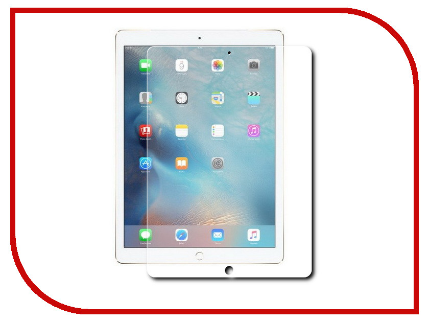 Аксессуар Защитное стекло Rexant 3D для iPad Mini 18-5001