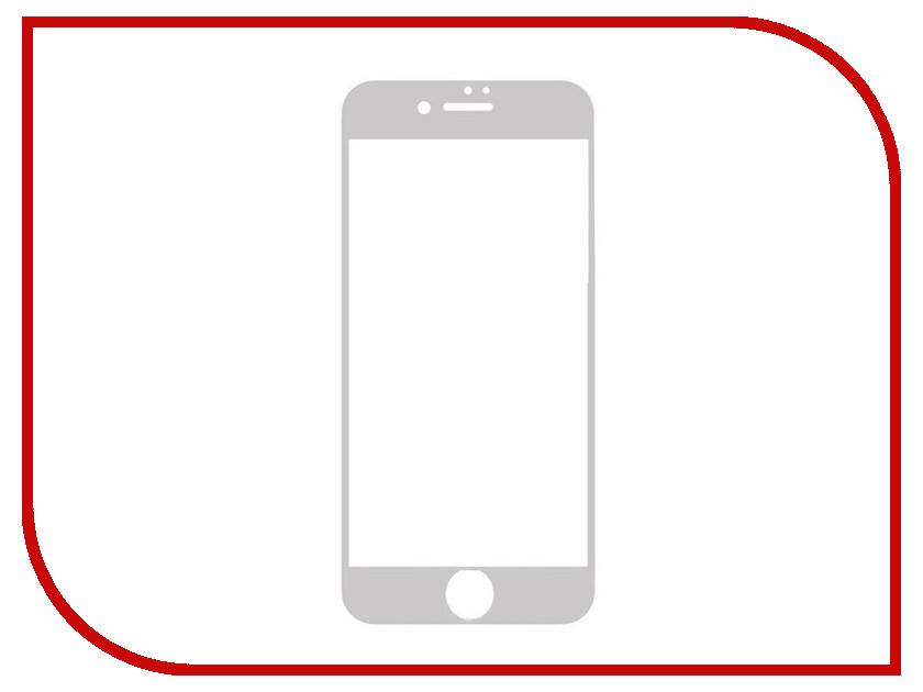 Аксессуар Защитное стекло Rexant для iPhone 6/6S Silver 18-5065-8<br>