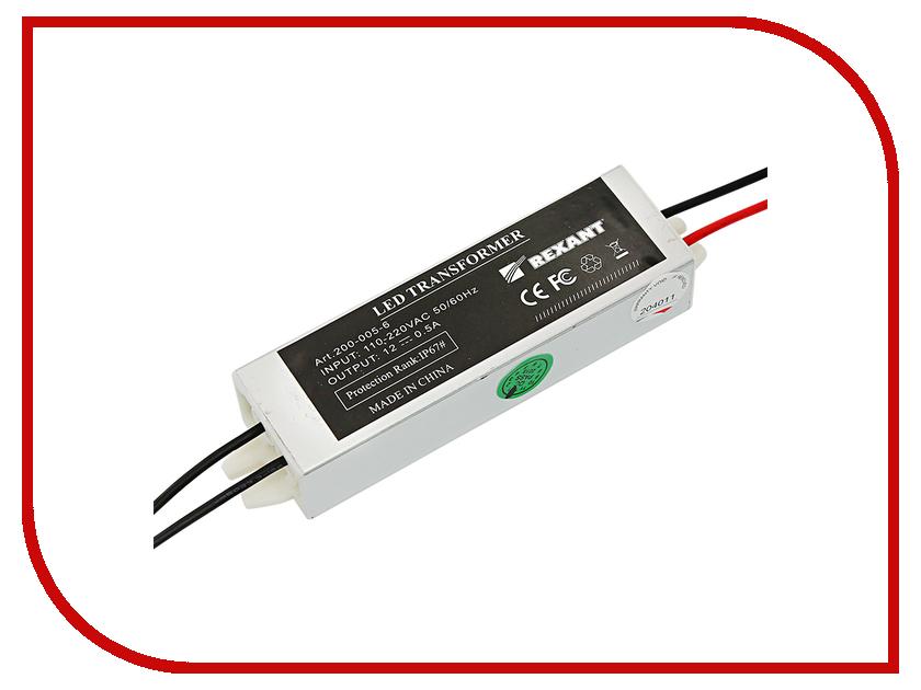 Блок питания Rexant 12V 5W IP67 200-005-6