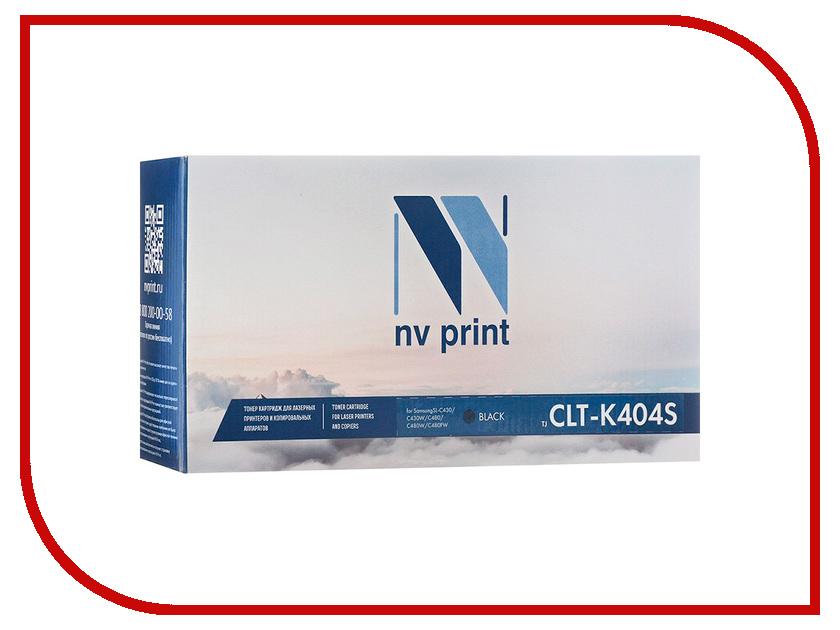 Картридж NV Print NV-CLT-K404SBk Black для Samsung SL-C430/C430W/C480/C480W/C480FW картридж nv print nv clt y404sy yellow для samsung sl c430 c430w c480 c480w c480fw