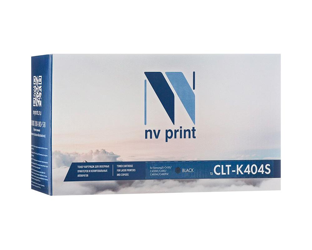 Картридж NV Print NV-CLT-K404SBk Black для Samsung SL-C430/C430W/C480/C480W/C480FW