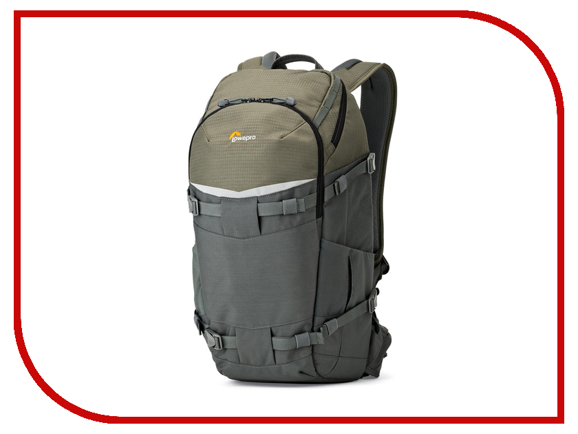LowePro Flipside Trek BP 350 AW Grey-Dark Green lowepro flipside trek bp 350 aw grey dark green