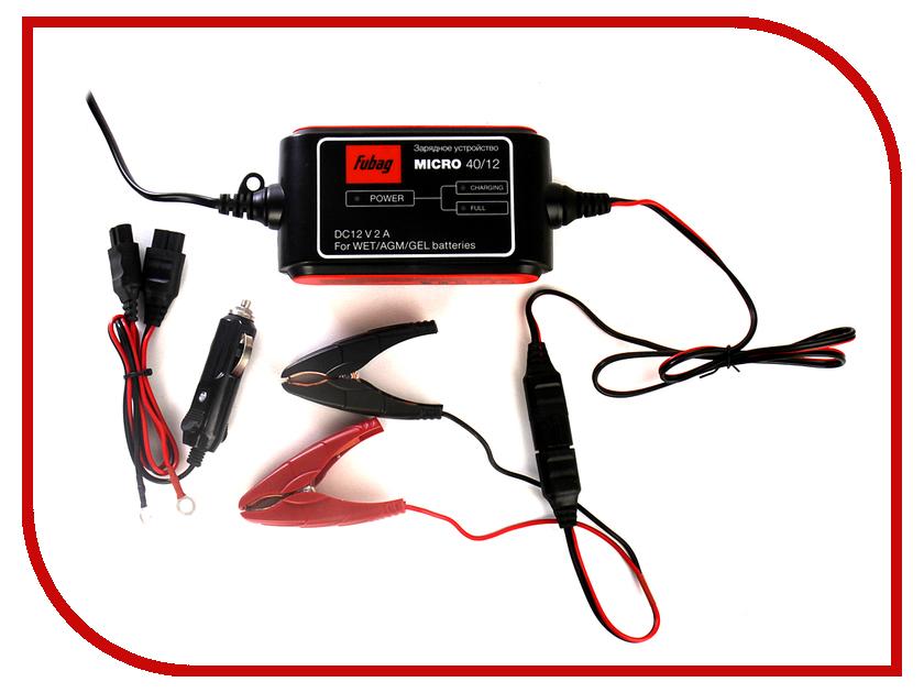 Устройство Fubag Micro 40/12 зарядное устройство fubag micro 80 12 68825