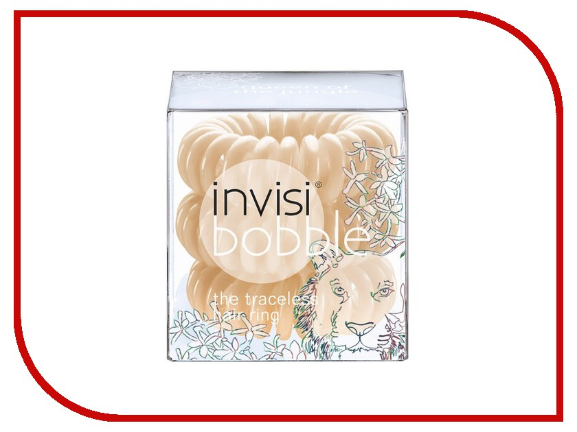 Резинка для волос Invisibobble Queen Of The Jungle 3шт 3034