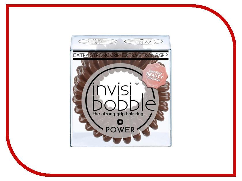 Резинка для волос Invisibobble Power Pretzel Brown 3шт 3068
