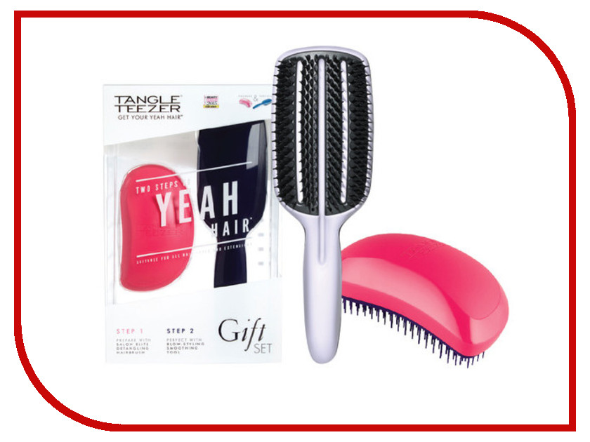 Расческа Tangle Teezer Elite Prepare & Perfect 2шт 2075