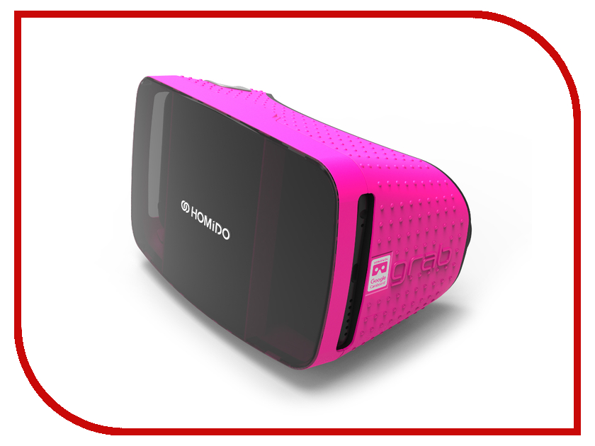 Видео-очки HOMIDO Grab Pink