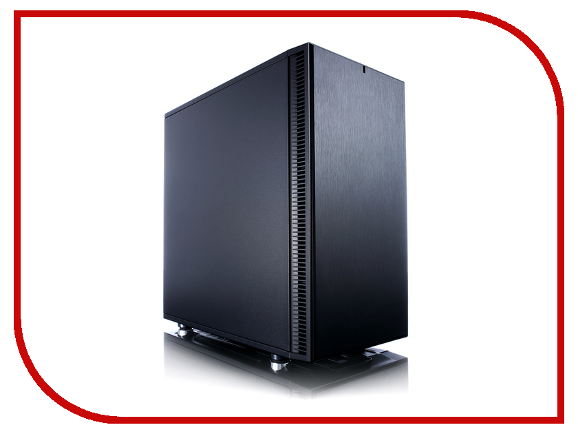 Корпус Fractal Define Mini C FD-CA-DEF-MINI-C-BK фрактальный диффузор cold ray fractal 7 red комплект 3 шт