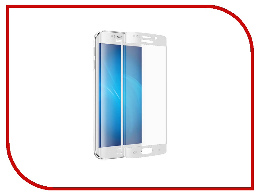 Аксессуар Защитное стекло Samsung SM-G928 Galaxy S6 Edge CaseGuru Mirror 0.33mm White