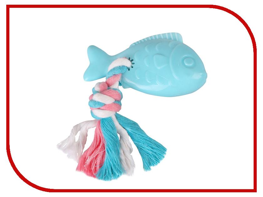 Рыба с веревкой DEZZIE 5638201 домик для кошек dezzie 5636054