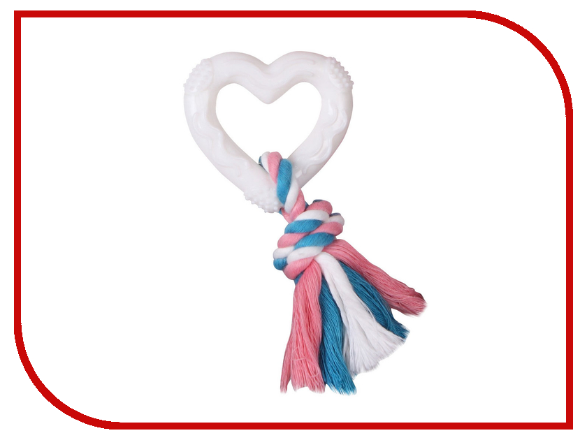 Сердце с веревкой DEZZIE 5638203 миска для собак dezzie барбос