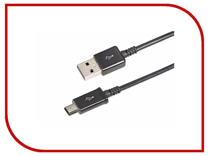 Аксессуар Rexant miniUSB 1m Black 18-4402 аксессуар rexant 18 0153 camera connection kit white