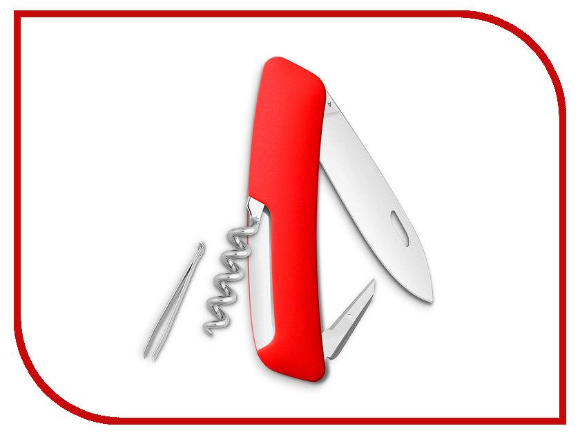 Нож SWIZA D01 Red KNI.0010.1000