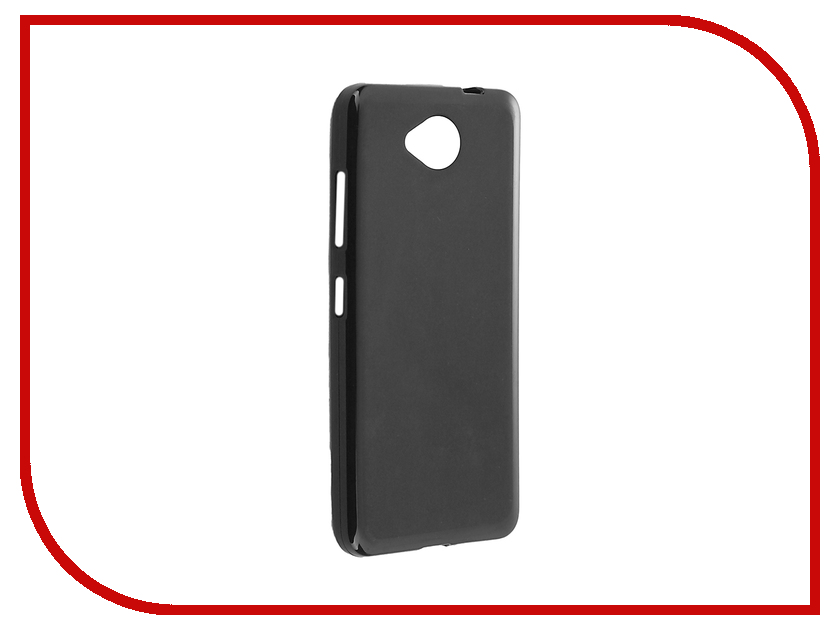Аксессуар Чехол Microsoft Lumia 650 Cojess TPU X 0.8mm Black Mate аксессуар чехол microsoft lumia 650 cojess tpu 0 3mm grey