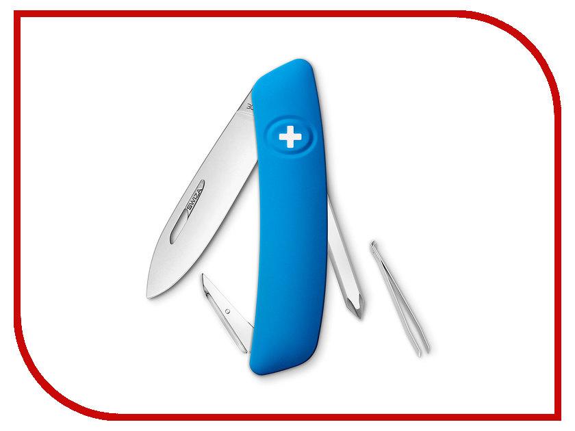Нож SWIZA D02 Blue KNI.0020.1030