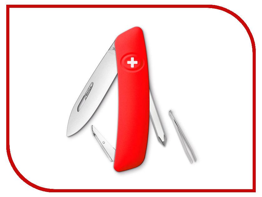 Нож SWIZA D02 Red KNI.0020.1000