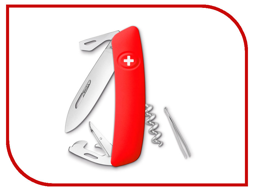 Нож SWIZA D03 Red KNI.0030.1000
