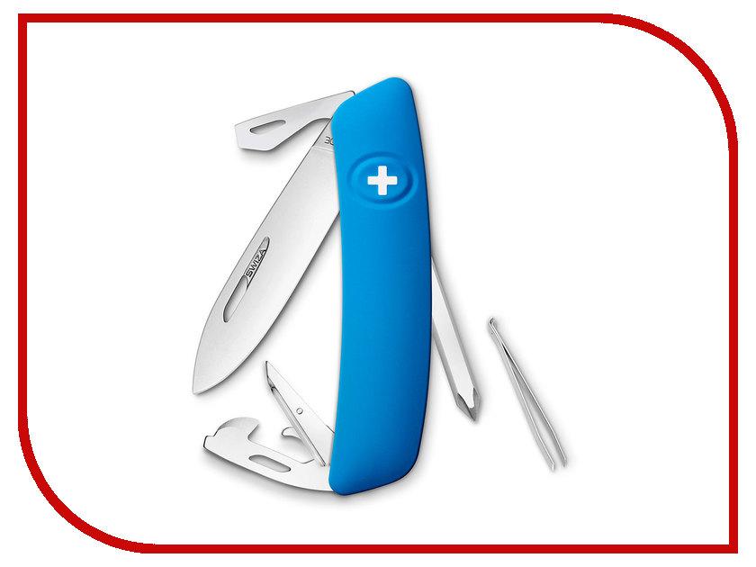Нож SWIZA D04 Blue KNI.0040.1030