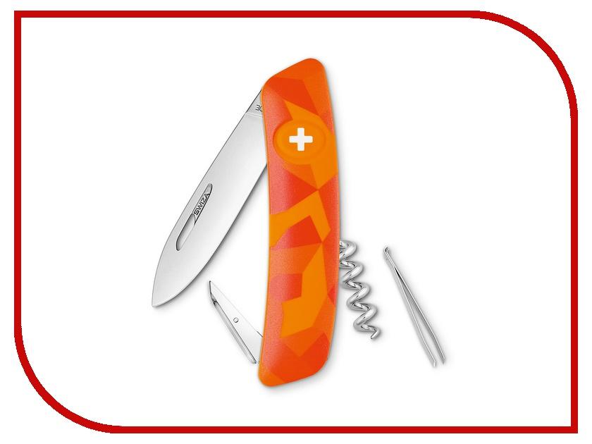 Нож SWIZA C01 Luceo Orange KNI.0010.2070