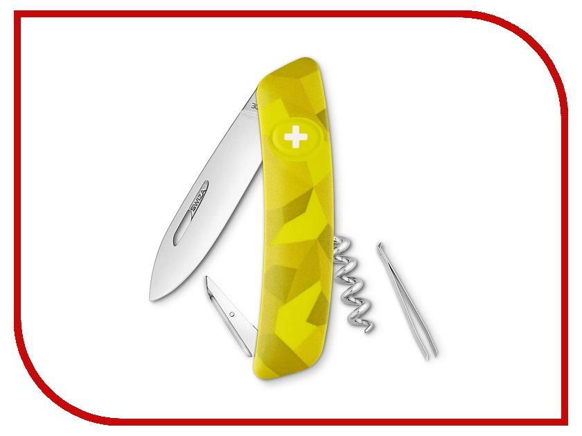 Нож SWIZA C01 Velor Yellow KNI.0010.2080