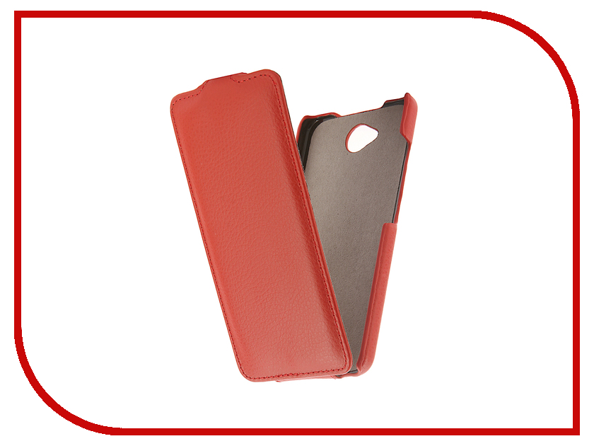 Аксессуар Чехол Microsoft Lumia 650 Cojess UpCase Red аксессуар чехол samsung galaxy a7 duos a700fd a700f cojess upcase red боковой