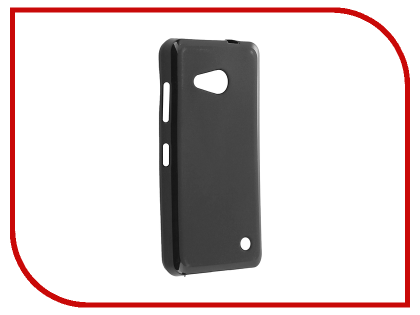 Аксессуар Чехол Microsoft Lumia 550 Cojess Silicone TPU X 0.8mm Black Mate аксессуар чехол samsung galaxy a3 2017 cojess tpu 0 8mm s black mate