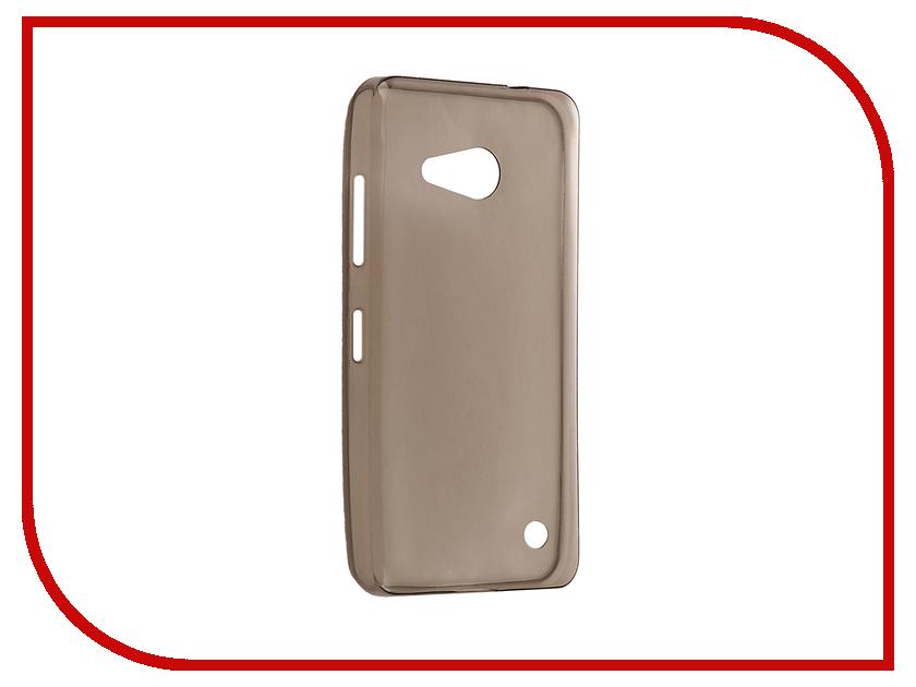 Аксессуар Чехол Microsoft Lumia 550 Cojess Silicone TPU 0.3mm Grey red line book type чехол книжка для microsoft lumia 550 white