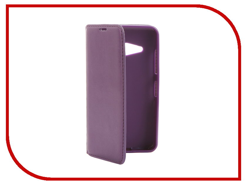 Аксессуар Чехол Microsoft Lumia 550 Cojess Book Case New Purple с визитницей