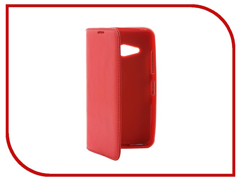 Аксессуар Чехол Microsoft Lumia 550 Cojess Book Case New Red с визитницей