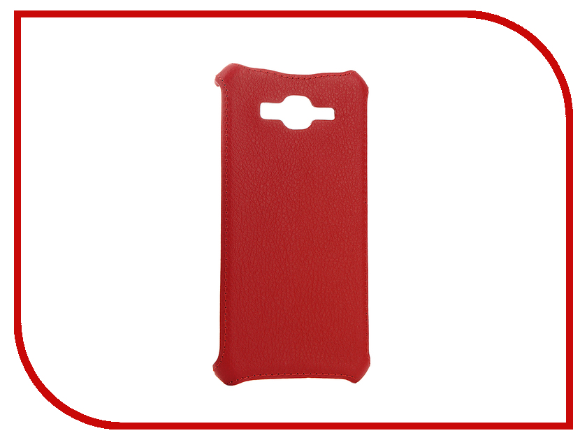 Аксессуар Чехол-накладка Samsung Galaxy J2 Prime SM-G532F/DS Zibelino Cover Back Red ZCB-SAM-J2-PRM-RED аксессуар чехол lenovo k10 vibe c2 k10a40 zibelino classico black zcl len k10a40 blk